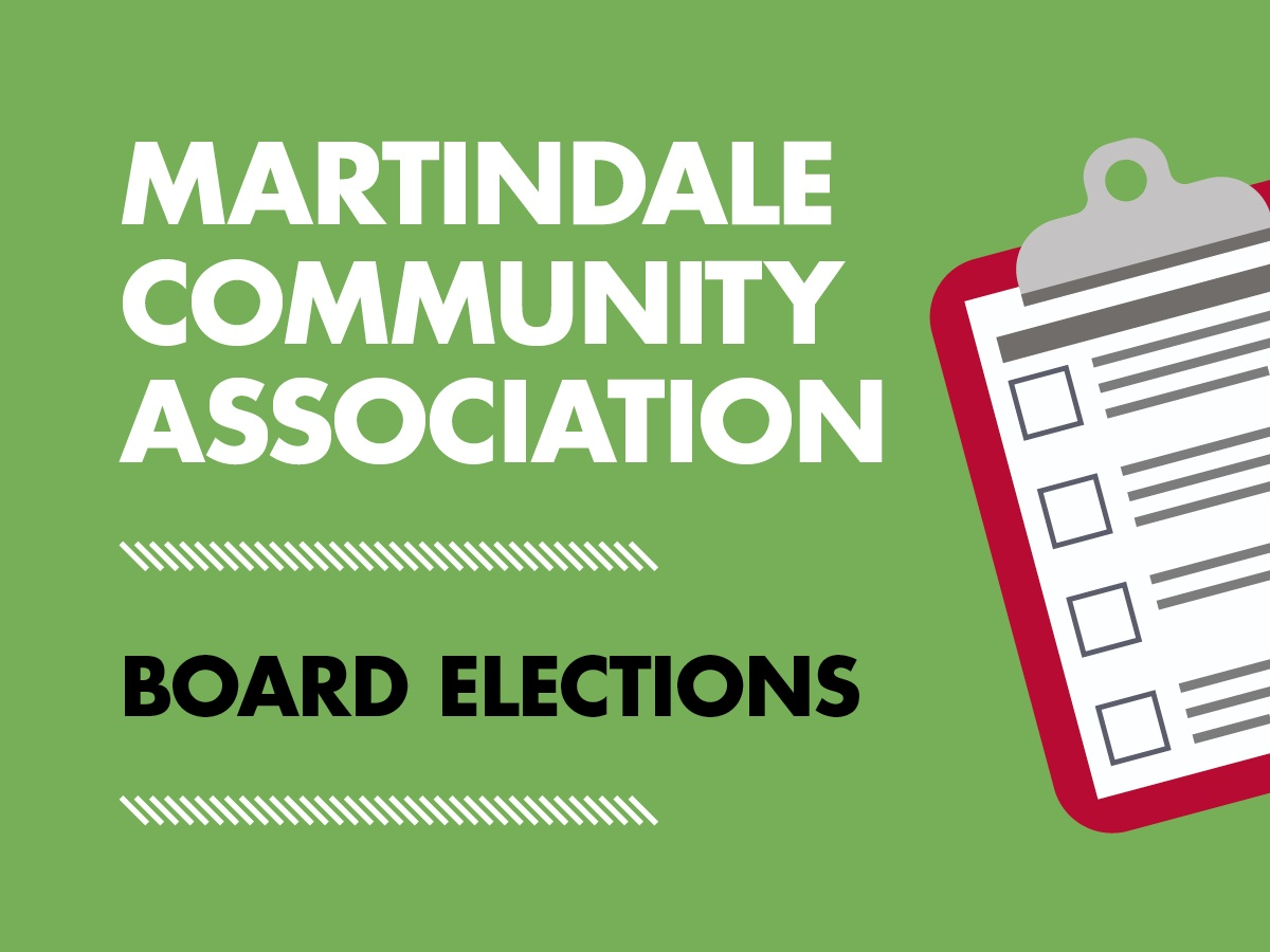 Martindale Community Association Board Elections